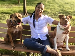 Pawfect PupPort owner Khiara Mills