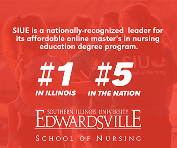 The SON's online nurse educator master's program ranks #1 in Illinois and #5 in the nation for affordability, according to Affordable Schools.
