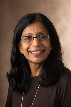 SIUE's Chaya Gopalan, PhD, has been named the 2020 Arthur C. Guyton Educator of the Year.