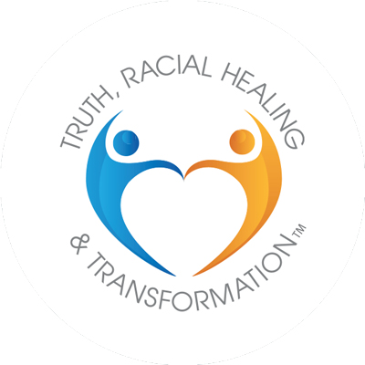 Truth, Racial Healing and Transformation (TRHT) Campus Center logo.