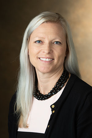 SIUE School of Pharmacy Director of Well-Being and Resilience Kelly Gable, PharmD, BCPP.