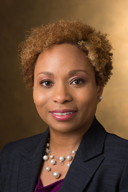 SIUE SOP Director of Diversity, Equity and Inclusion Lakesha Butler, PharmD.