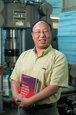 SIUE's Albert Luo, PhD, distinguished research professor in the Department of Mechanical and Mechatronics Engineering.
