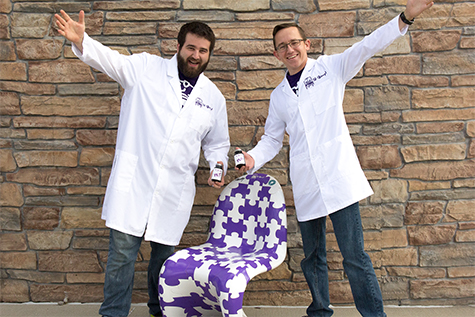 (L-R) 3D Gloop! co-founders Andrew Mayhall and SIUE alumnus Andrew Martinussen.