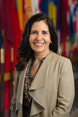 Illinois SBDC International Trade Center (ITC) at Southern Illinois University Edwardsville Director Silvia Torres Bowman.