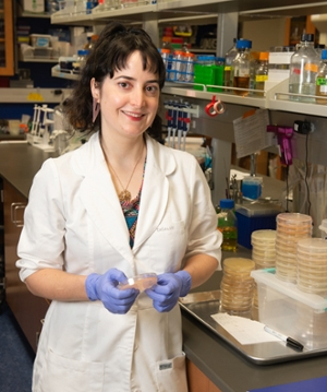 Susanne DiSalvo, PhD, assistant professor in the Department of Biological Sciences.