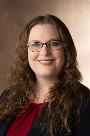 SIUE's Alicia Plemmons, PhD, assistant professor of economics in the SIUE School of Business and undergraduate economics program director in the College of Arts and Sciences.