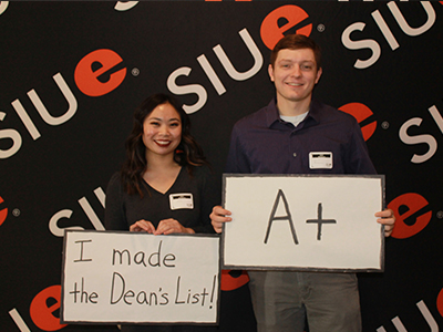 University Housing residents who achieved the fall 2016 dean's list were recognized during the Dean's List Reception.
