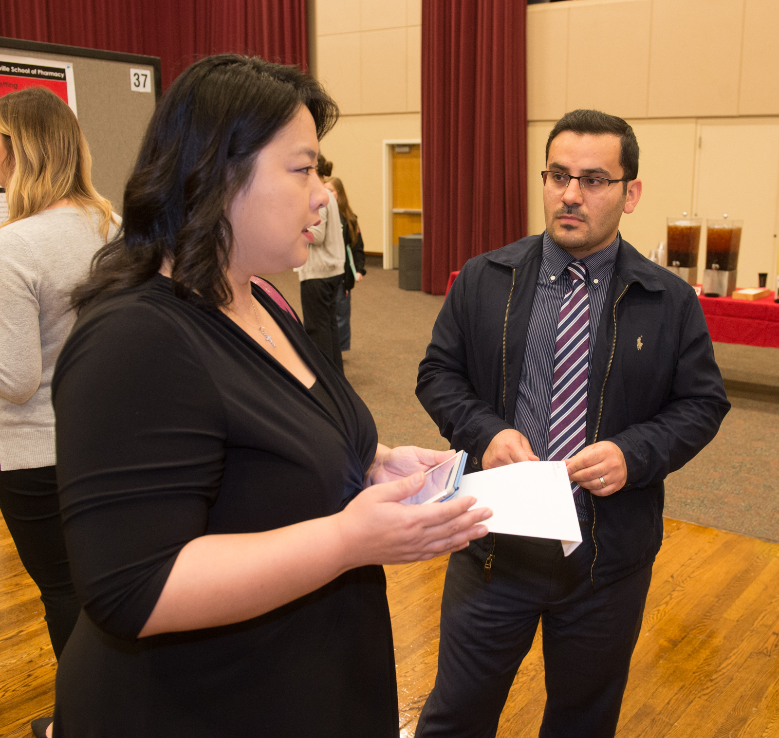 Dr. Fan speaks with Radir Barwari about his Capstone project