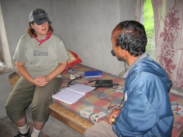 Documentation in Manang 2009