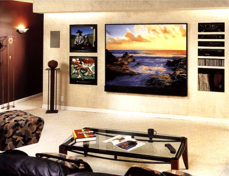 Home theatre - Living room home theater ...